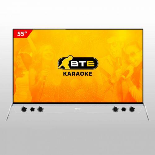 Tivi Smart Karaoke 4K - Cường lực TOVO Model TO55M3K1 55inch