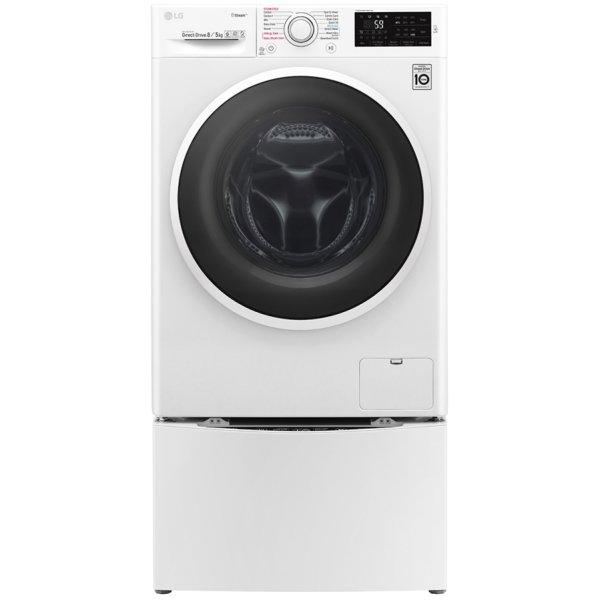 Máy giặt sấy lồng đôi LG TWINWash™ TWC1408D4W/TG2402NTWW giặt 8.0kg, sấy 5kg