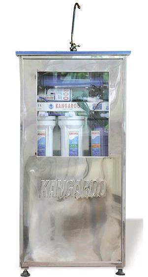 Máy lọc nước Kangaroo KG102-INT (5 cấp lọc, vỏ inox nhiễm từ)