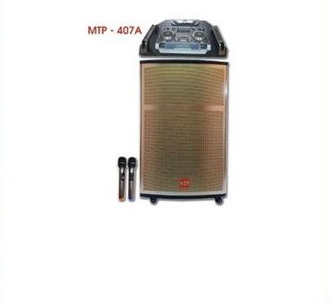 Loa kéo MTP-407A vỏ gỗ DJ