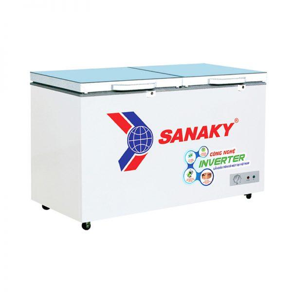 Tủ đông Sanaky Inverter VH-3699A4KD mặt kính cường lực