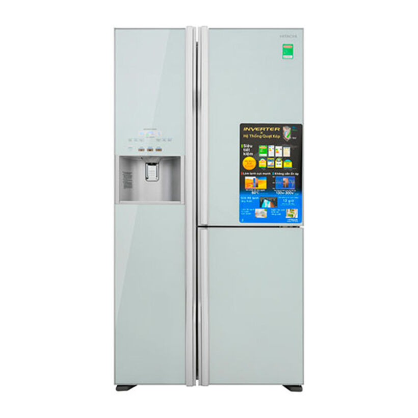 Tủ lạnh Side by side HITACHI R-FM800GPGV2 (GS) 584 Lít Inverter