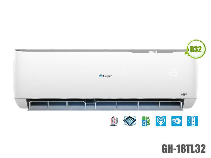 Điều hòa Casper GH-18TL32 2 chiều 18000BTU Inverter