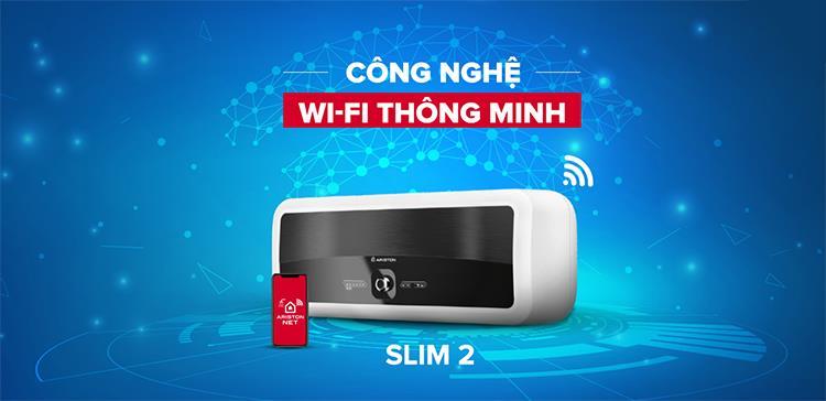 Bình nóng lạnh gián tiếp Ariston 30L SL2 30LUX Wifi