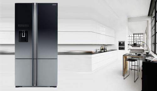 Tủ Lạnh Hitachi Inverter 587 Lít R-WB780PGV6X (GBK) 4 Cánh