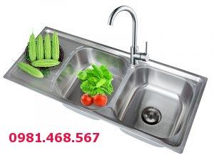 Chậu rửa bát Inox Kangaroo KG10545L