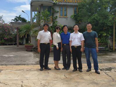 THABIMEX đón đoàn chuyên gia SMC sang thăm khách hàng