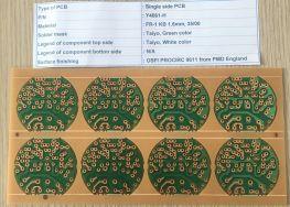 FR-1 Single Side PCB