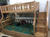 giường tầng gỗ sồi GN07