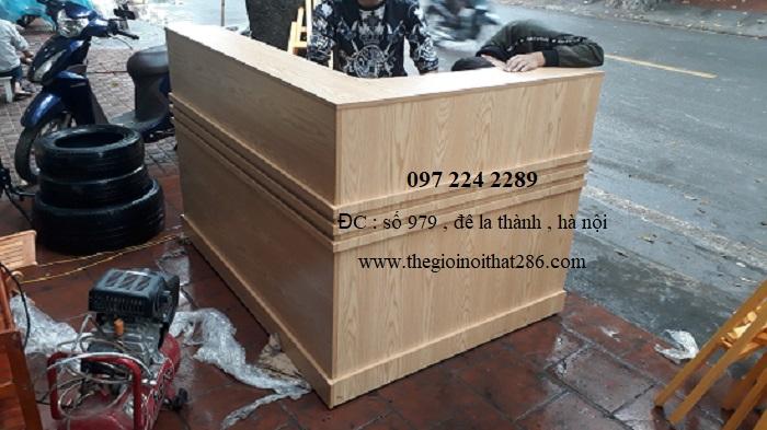 Quầy Lễ Tân QG1220