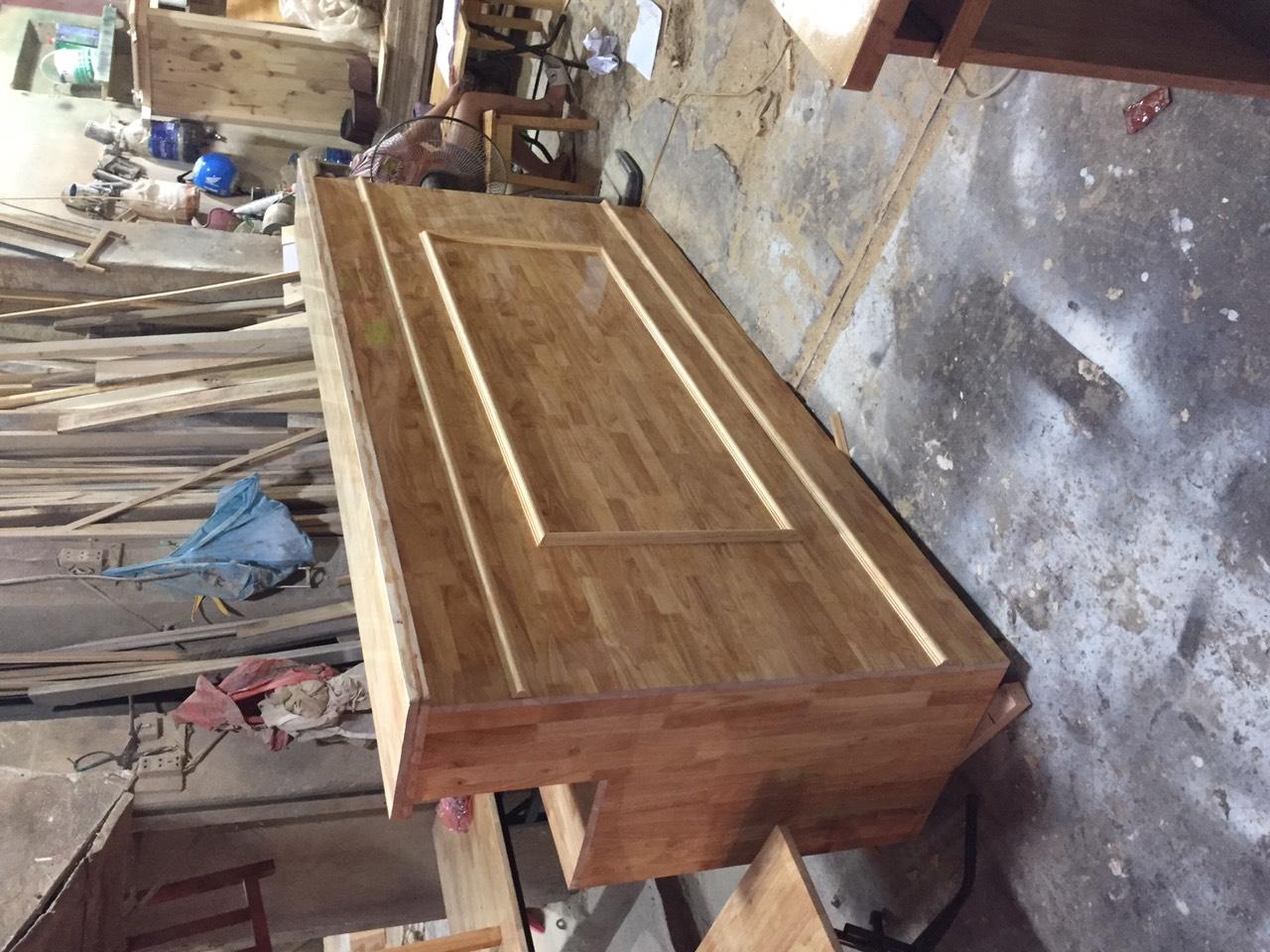 bàn quầy gỗ TN2
