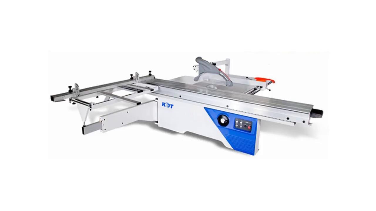 Máy cưa bàn trượt CNC KDT KS132C