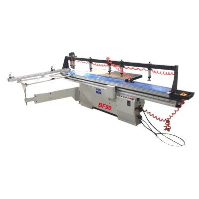 Máy cưa bàn trượt kẹp phôi và đưa phôi tự động Berfex BF90
