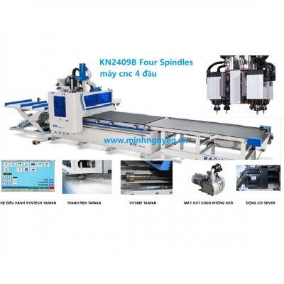 Máy CNC 4 đầu dao độc lập KDT KN2409B