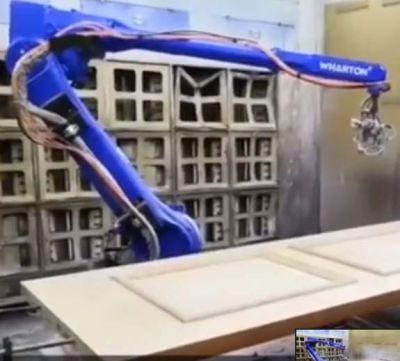 Robot phun sơn tự động đồ nội thất