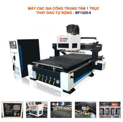 Máy CNC gia công trung tâm 1 trục thay dao tự động BF1325-II