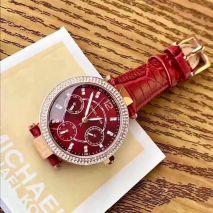 Đồng hồ Michael Kors Dây Da Viền Đá