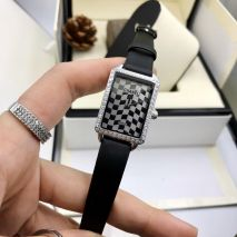 Đồng hồ Dây Da Chanel Vuông