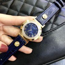 Đồng hồ Dây Da Versace Viền Đính Đá