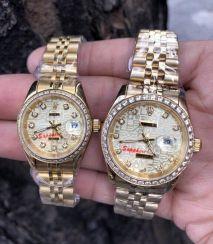Đồng hồ Rolex Dayjust Viền Đính Đá