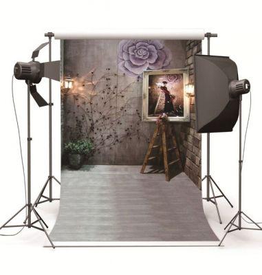 Tư vấn thiết kế, dựng phòng chụp Studio với phông nền và đèn flash Jinbei DPE II