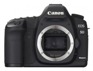 Canon  EOS  5D Mark III body .