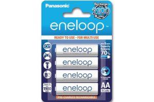 Pin AA Panasonic Eneloop 1900 mAh BK-3MCEE loại 2100 lần sạc