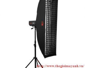 Softbox tổ ong JINBEI EM 80cm x 120cm ( lưới vải )