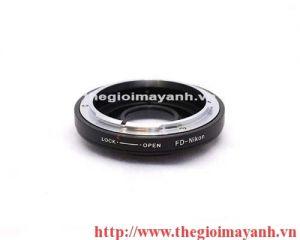CANON FD Lens to Nikon