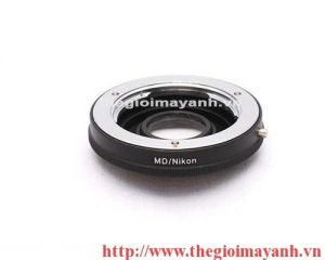 Milontal MD Lens to Nikon