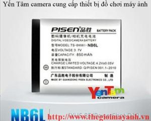 Pin Pisen for canon 6L
