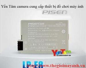 Pin Pisen for canon LP - E8