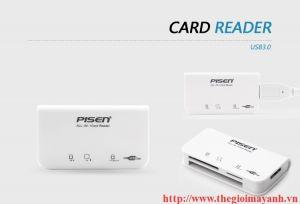 Đầu đọc thẻ đa năng Pisen đa năng All-in-1 3.0