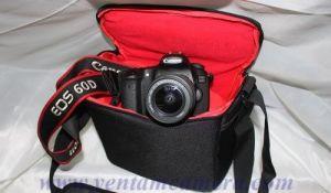 Túi đựng máy ảnh Canon EOS-Kẻ ngang