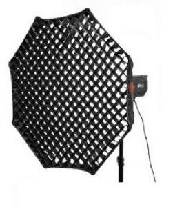 Softbox tổ ong bát giác EM 1200 ( lưới vải )