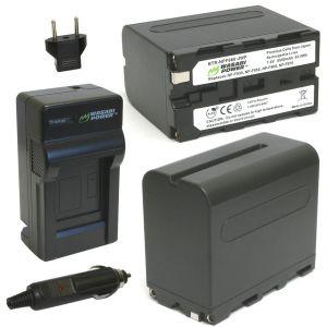Pin sạc Li-ion cho Sony NP-F960