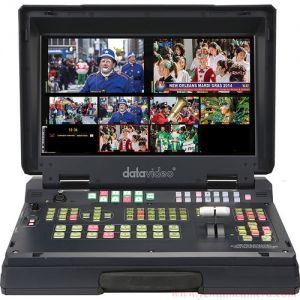 Switcher 6 đầu vào chất lượng phát sóng HD Mobile Studio HS-2200