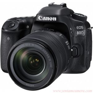 Canon EOS 80D Kit 18- 135 Is Nano