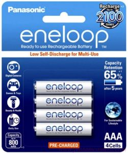 Pin Eneloop AAA 750mAh