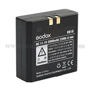 Pin Godox VB18 cho đèn V860II