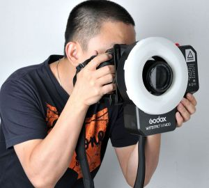 GODOX WITSTRO AR400 POWERFUL RING FLASH + LED LIGHT