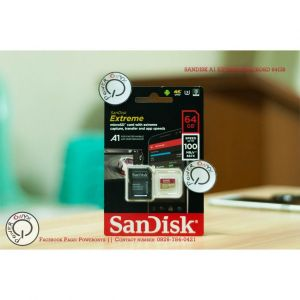 Sandisk Micro SD 64GB 100MB/s 4K ( Gold card)