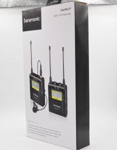 Mic  cài ve áo Saramonic UwMic 9 RX9 + TX9 kit1