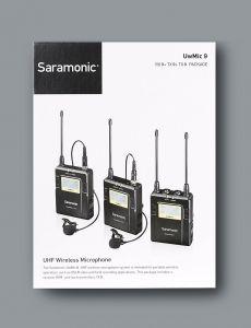 Mic cài ve áo  Saramonic UwMic9 RX9 + TX9 + TX9 kit 2