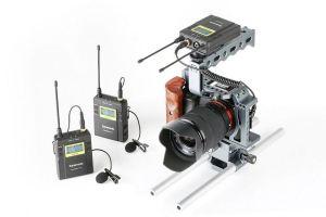 Micro cài ve áo Saramonic RX9+TX9+TX9