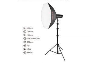 Chân đèn quay phim, chụp ảnh  MZ-3800 FP