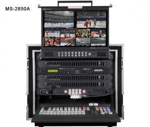 Bàn switch HD/SD 8/12 kênh đóng sẵn tủ rack, tất cả trong một MS-2850A