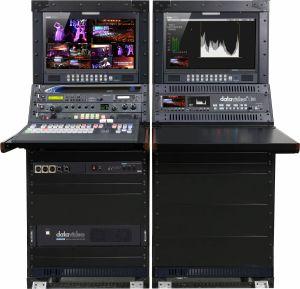 Bộ switcher đóng sẵn tủ rack Studio video di động HD / SD 8/12 kênh OBV-2850A/B/C
