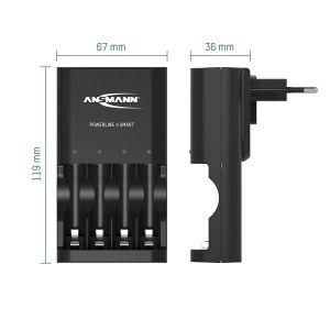 Sạc Ansmann Powerline 4 Smart