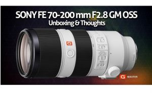 Sony SEL70-200mm f/2.8GM Hàng  chính hãng